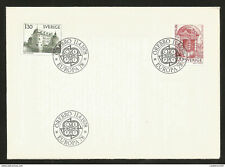 J) 1978 SWEDEN, PACE, EUROPE CEPT, WITH LETTER, FDC