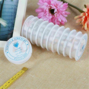 4 Rolls Elastic Stretchy Beading Thread Cord Bracelet String For Jewelry Making