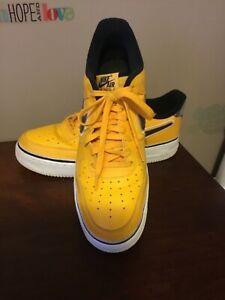 Nike Air Force 1 07 Sport LA Lakers NBA Gold BV1168-700 Sneakers Size 13 (EL)