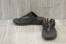 **FitFlop Electra Classic Sandal - Women's Size 8, Pewter
