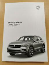 VW TIGUAN 2021 Notice d´Utilisation français (Édition 11.2020) *Nouveau*