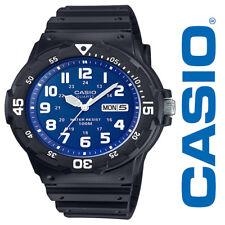 NEW Men's Casio MRW200H-2B2VCF Analog/Digital Classic Watch - Black and Blue
