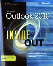 Microsoft Outlook 2010 Inside Out by Jim Boyce (English) Paperback Book