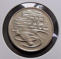 1989 Australia Uncirculated - 20c Twenty Cent Coin - Elizabeth II - Ex Mint Set