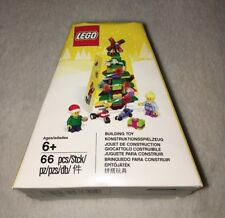 Lego Christmas Tree Ornament 5004834 Santa Minifigures Sealed Age 6+ 66 pc. 2017