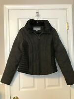 Woman's Marc New York , Andrew Marc warm Jacket, size L, Black/ Charcoal Color