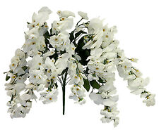"22"" Hanging Wisteria Bush ~ MANY COLORS ~ Home Wedding Silk Flowers Centerpieces"