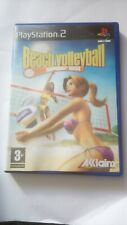 Jeu vidéo PS2 : Beach Volley Ball , Summer Heat , RARE , complet . Trés bon état