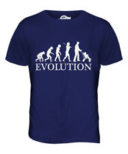 DAD WITH PUSHCHAIR EVOLUTION OF MAN MENS T-SHIRT TEE TOP GIFT NEW FATHER DADDY