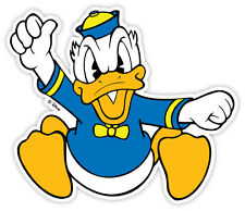 "Donald Duck angry sticker decal 5"" x 4"""