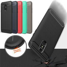 For LG Q7/Q7 Plus/Q7 Alpha Hybrid Ultra Slim Rubber TPU Shockproof Case Cover