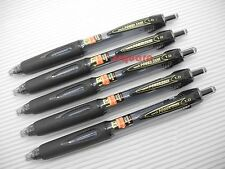5 x Uni-Ball Power Tank 1.0mm Medium Retractable Ballpoint Ball Pen, Black Ink