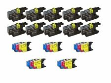 25 Pack inkjet Compatible Brother LC-71 LC-75 Ink Cartridges MFC-J430W, MFC-J435