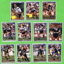 1993  WESTERN SUBURBS MAGPIES   RUGBY LEAGUE CARDS