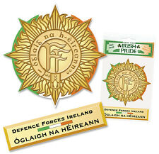 Ireland Defense Forces Sticker Decal  Irish Army Navy Defence