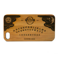 Ouija Board Case for iPhone 7 Bamboo Wood Cover Skin Psychic Medium Seance Gift