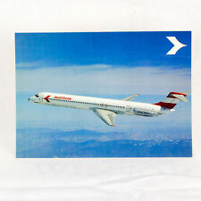 Austrian Airlines - MD-80 - Aircraft Postcard - Top Quality