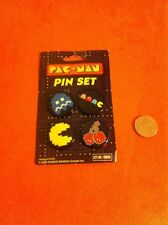 New Pacman Buttons Badges 80's Party Favor....