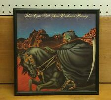 Blue Oyster Cult: Some Enchanted Evening, Framed Record Album, Good Condition!