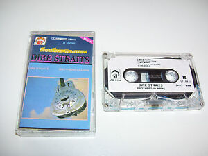 Dire Straits - Brothers in Arms * RARE PIRATE CASSETTE / TAPE RUSSIA / POLAND *