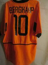 Holland 2002-2004 Bergkamp #10 Home Football Shirt Size Large /34140