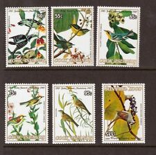 COOK ISLANDS, 1985 JOHN AUDUBON, (BIRD SET) SG 1015-20, MNH, CAT £16