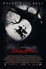 SLEEPY HOLLOW (1999) ORIGINAL ADVANCE MOVIE POSTER  -  ROLLED  -  DOUBLE-SIDED