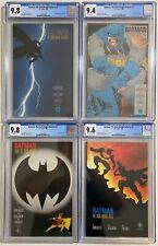 Batman: The Dark Knight Returns #1 - #4 Full Run CGC Lot 9.4 / 9.6 / 9.8 NM/M
