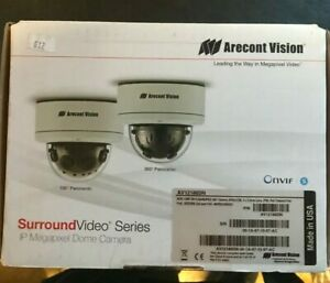 Aricont Vision AV12186DN 12 Megapixel 180˚ WDR Panoramic IP Camera NEW in Box