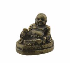 Figurine Amulette thaï Bouddha chinois de la Fortune  bénie Talisman  1653 A1