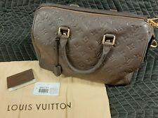 Louis Vuitton Speedy Bandouliere 25 Infinite Brown Monogram Empreinte Leather