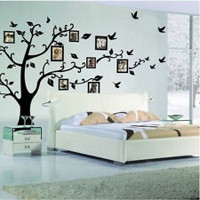 Black Tree Removable Room Decals Wall Sticker Paper Vinyl Art For Home Decor DIY