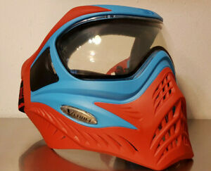 VForce Grill Blue on Red Paintball Thermalmaske Airsoft Magfed Softair