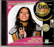CANTA TU - CD 22 -New Hits Italia vol.2  - NCR 1079