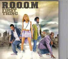 ROOOM-First Thing Promo cd single