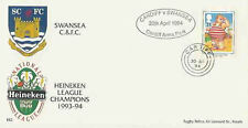 SWANSEA RUGBY - HEINEKEN WELSH NATIONAL LEAGUE CHAMPIONS COMM COVER 1993/4