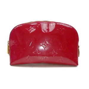 Louis Vuitton LV Cosmetic Pouch Bag M91746 Pomme Damour Rose Vernis 1426630