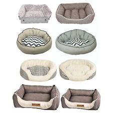 Comfort Pet Dog Bed Stylish Country Chic Cosy Warm Soft Medium Large
