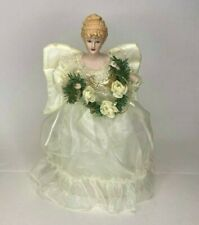 Angel Tree Topper Porcelain Face and Hands