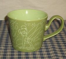 DisneyStore Faires Pixie Dust Green BIG Tinkerbell Cup