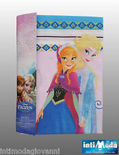 Completo Letto Lenzuola Singolo Disney Frozen Cotone Sopra Sotto Federa