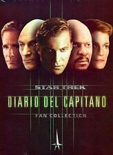 DvD  STAR TREK - DIARIO DEL CAPITANO FAN COLLECTION 5 DVD ......NUOVO