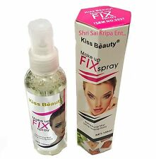 KISS BEAUTY MAKE UP FIXER SPRAY REFRESHING MIST LONG LASTING HOLD WITH VITAMIN E