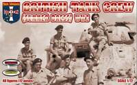 British Tank Crew (Summer Dress), WWII. 48 figures (12 poses) 1/72 Orion 72057