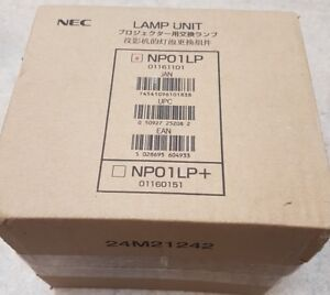Genuine ORIGINAL NEC NP01LP LAMP  TO FIT NP1000  PROJECTOR - BRAND NEW