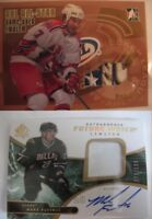 2006-07 ITG Heroes and Prospects AE07 Denis Hamel 1/10 SICK patch emblem GOLD RC