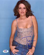 Tina Fey Signed PSA/DNA COA Sexy Cleavage 8X10 Photo Auto Autographed Autograph