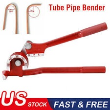 Tubing Pipe Bender 14 516 38 Tube Aluminum Copper Steel Fuel Brake Line Us
