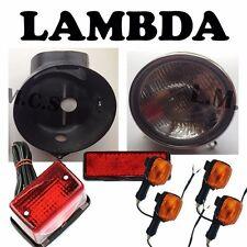 Lights Replacement Set - Headlight Tail Stop Indicators Honda CT110 Postie