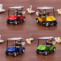 1:36 Scale Alloy Pull Back Model Car High Simulation Golf Cart Model Kid Toy Set
